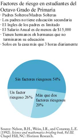 Risk Factors Among Eighth-Graders
